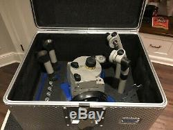 Vinten Vision 250 Fluid Head (Gray)4-Bolt Base Camera Plate & 2 Pan Handles case