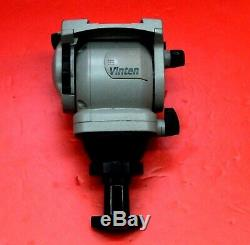 Vinten Vision 3 Fluid Video Head with pan bar & plate 22 Lb Load Mint