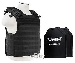 Vism 2964 Series Quick Release Plate Carrier includes two BPCVPCVQR2964B-A