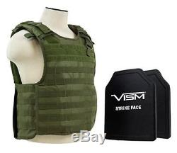 Vism 2964 Series Quick Release Plate Carrier includes two BPCVPCVQR2964G-A