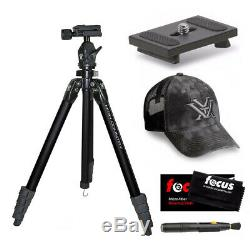 Vortex High Country Tripod with Quick Release Plate + Vortex Hat + Cleaning Kit
