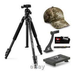 Vortex High Country Tripod with Quick Release Plate and Binocular Adapter Bundle