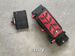 Zacuto VCT Pro Baseplate Plus VCT Receiver and additional tripod plate adapter