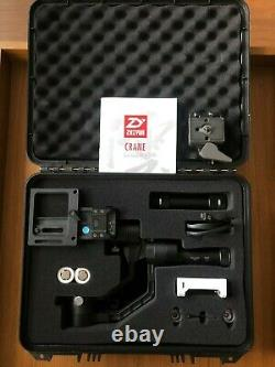 Zhiyun Crane V2 3-Axis Handheld Gimbal Stabilizer w Quick Release Plate